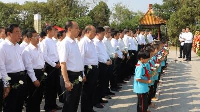烈士紀念日|金鄉舉行公祭烈士活動 弘揚烈士精神