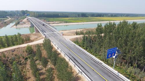 汶金線南旺運河大橋9月25日正式通車!
