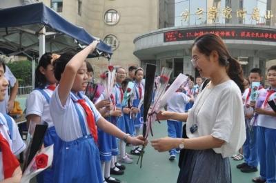 微行动里藏祝福 ——济宁学院附属小学带你度过有温度的教师节!