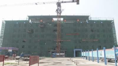 兖州区颜店社会福利中心完成六层主体结构施工