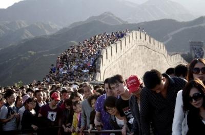 国庆出游人次预计近800000000!