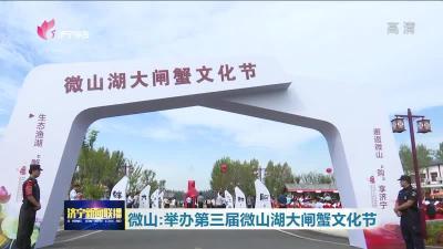 第三届微山湖大闸蟹文化节开幕