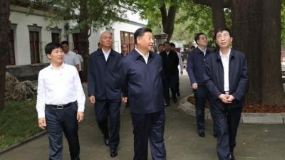 鉴往知来——跟着总书记学历史   在香山,重温赶考初心
