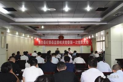 鱼台县纪委县监委机关党委正式成立
