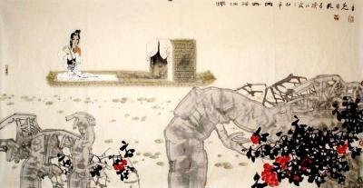 """""""圣裔丹青——中国当代着名画家孔维克中国画精品展""""在曲阜举办"""