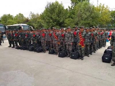 送新兵踏征程 金乡县举行2019新兵入伍欢送仪式
