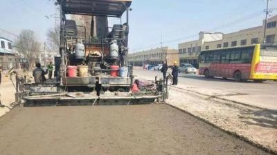 出行更方便,金乡这两条路线改造工程通过交工验收