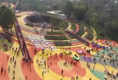 親子游好去處!濟寧市兒童公園人氣爆棚
