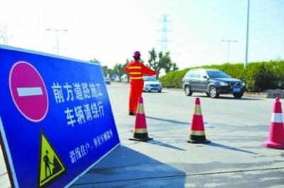 出行 | 10月22日起,王母阁路跨线桥部分路段全幅封闭施工