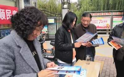 古槐街道大石橋社區開展掃黑除惡宣傳活動