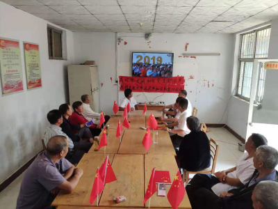 汶上南旺鎮組織村民歡慶祖國母親70華誕