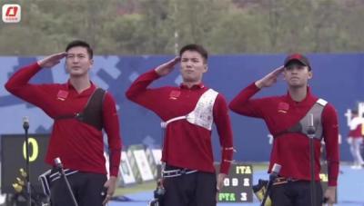 驕傲!濟寧籍小伙馮浩勇奪軍運會射箭項目金牌