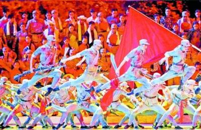 舞台上绽放齐鲁儿女对祖国的热爱