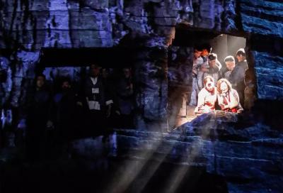 歌劇《沂蒙山》在濟寧大劇院首演,150分鐘演出座無虛席