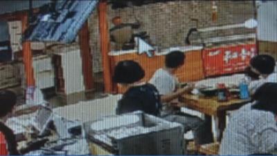 济宁一男子砸店泄愤   害人害己被拘