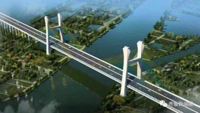 山东新闻联播|枣菏高速公路微山湖特大桥成功合龙