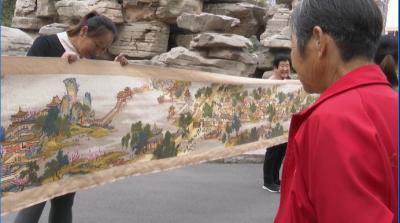震撼!每天8小時 兗州大媽6年繡出21米《清明上河圖》