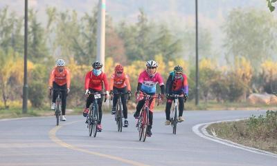 第二届朝圣之路210公里自行车挑战赛在曲阜激情开赛