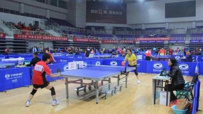55支代表队齐聚曲阜,2019全国历史文化名城乒乓球比赛开赛