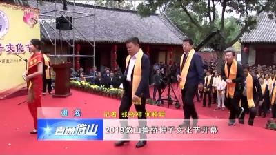 微山:2019微山鲁桥仲子文化节开幕