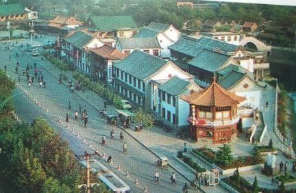 """济宁""""夜经济""""由来已久,古运河畔曾如此热闹"""