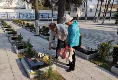 济宁市任城区:家乡酒伴随烈士长眠 真情告慰无名烈士