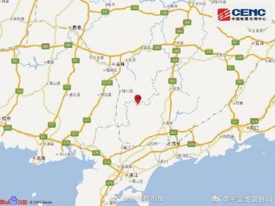 广西玉林市发生5.2级地震,震源深度10千米