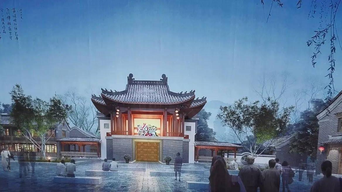 濟州古城新進展!游客中心、東西城墻主體建筑已封頂