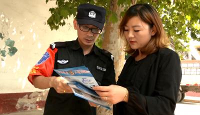 """""""赶大集""""、""""大走访""""……防范电信诈骗  邹城民警在行动"""