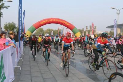 第二屆朝圣之路210公里自行車挑戰賽在曲阜激情開賽