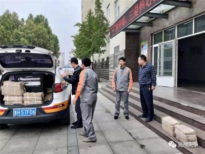 兗州:人防教材進校園 人防知識惠師生