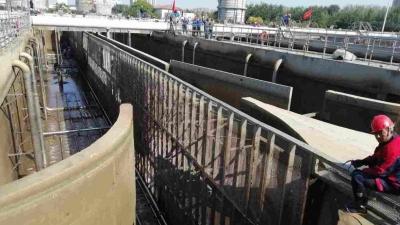 济宁市污水处理厂大检修,10天后检修MBBR生物反应池