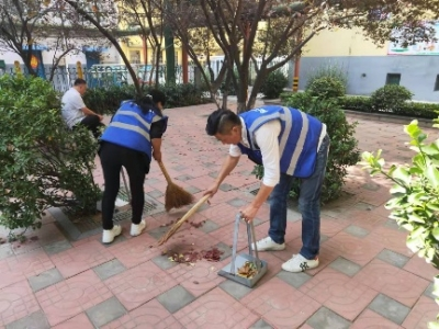 濟寧市和諧義工團體驗創城生活 為創城做貢獻