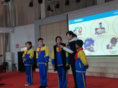 保護未成年人,走進小學生!濟寧五防講師團一直在行動