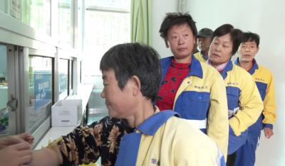 健康公益行动  关爱邹城环卫工人