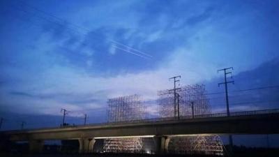 鲁南高铁日照-曲阜段牵引站双电源供电工程竣工送电