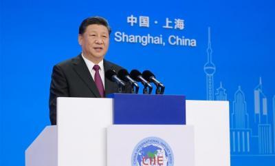 论习近平主席在第二届中国国际进口博览会开幕式上主旨演讲
