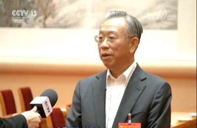 劉家義接受央視《新聞聯播》采訪 堅決擁護十九屆四中全會《決定》