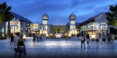 濟寧太白湖新區娛樂、休閑好去處!濟州老街項目11月底全面完工