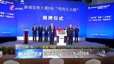 """太白湖新區:新城發展B座""""稅收億元樓""""成功揭牌"""