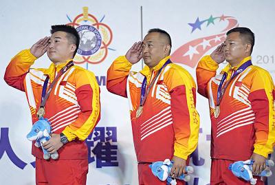 好樣的!泗水籍軍人夏偉榮獲世界軍運會射擊冠軍