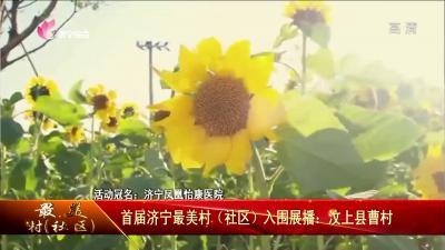 首屆濟寧最美村(社區)入圍展播:汶上縣朱莊、曹村