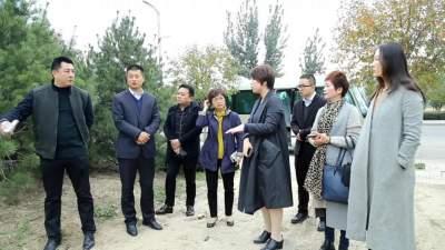 中荣国投智慧城市建设有限公司来太白湖新区对接洽谈