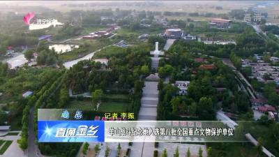 金乡:羊山战斗纪念地入选第八批全国重点文物保护单位