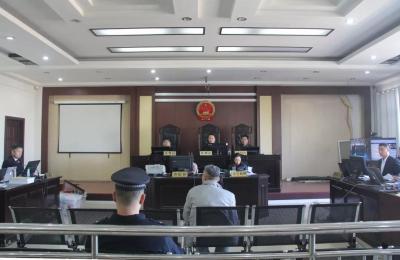 """岳跃国等7人""""套路贷""""恶势力集团犯罪案开庭审理"""