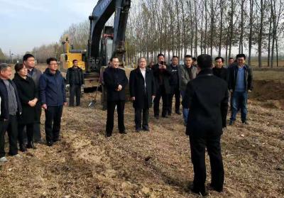 兗州區大安鎮鄉村振興服務隊: 規劃引領  項目落地  邁出鄉村振興新步伐