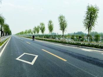 一條大道串聯7個縣市區 濟寧泗河景觀大道年底竣工通車