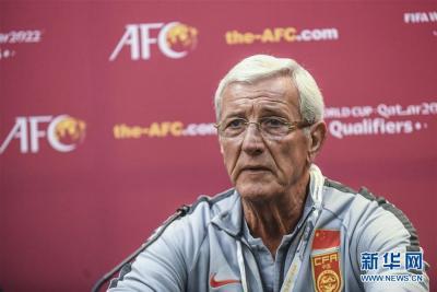 中國足協接受里皮辭職 將重組男足國家隊