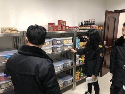 """泗水县开展网络订餐""""双随机""""检查"""
