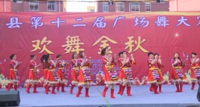梁山县举行第十二届广场舞大赛